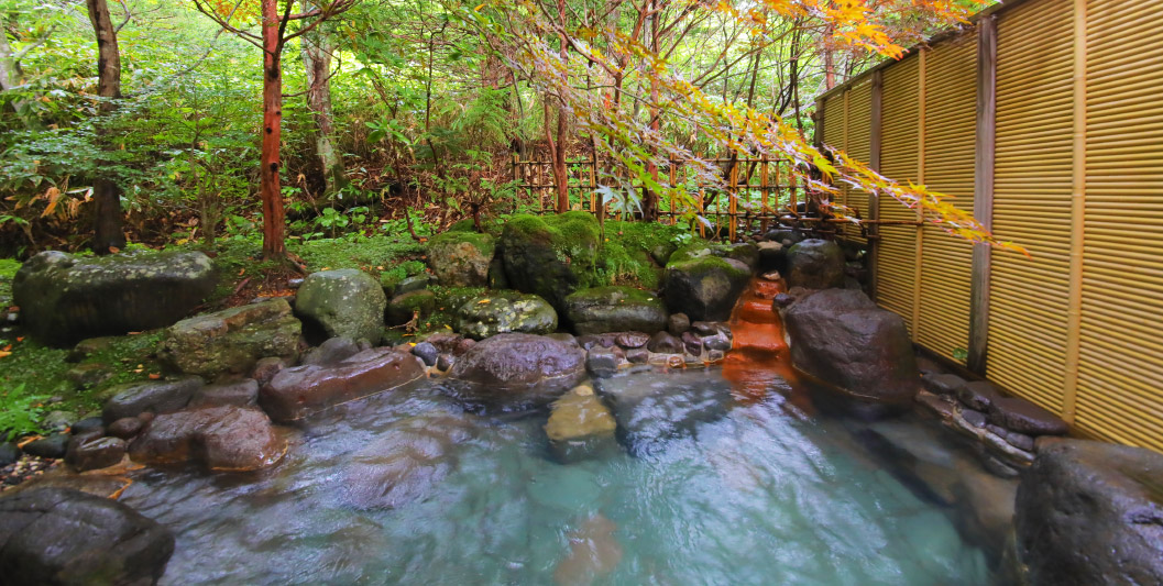 Mori no Yu outdoor baths