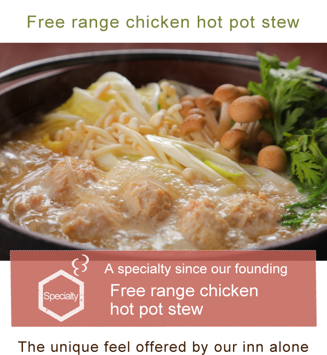 Free range chicken hot pot stew