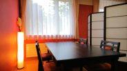Private restaurant seating