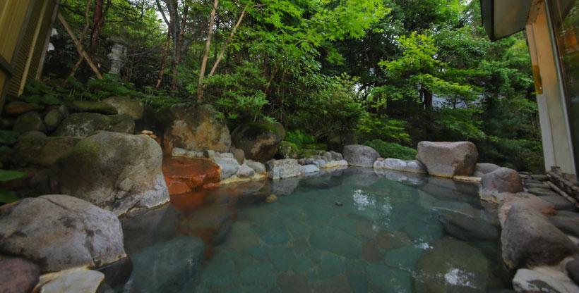 カルルス温泉の効能・由来